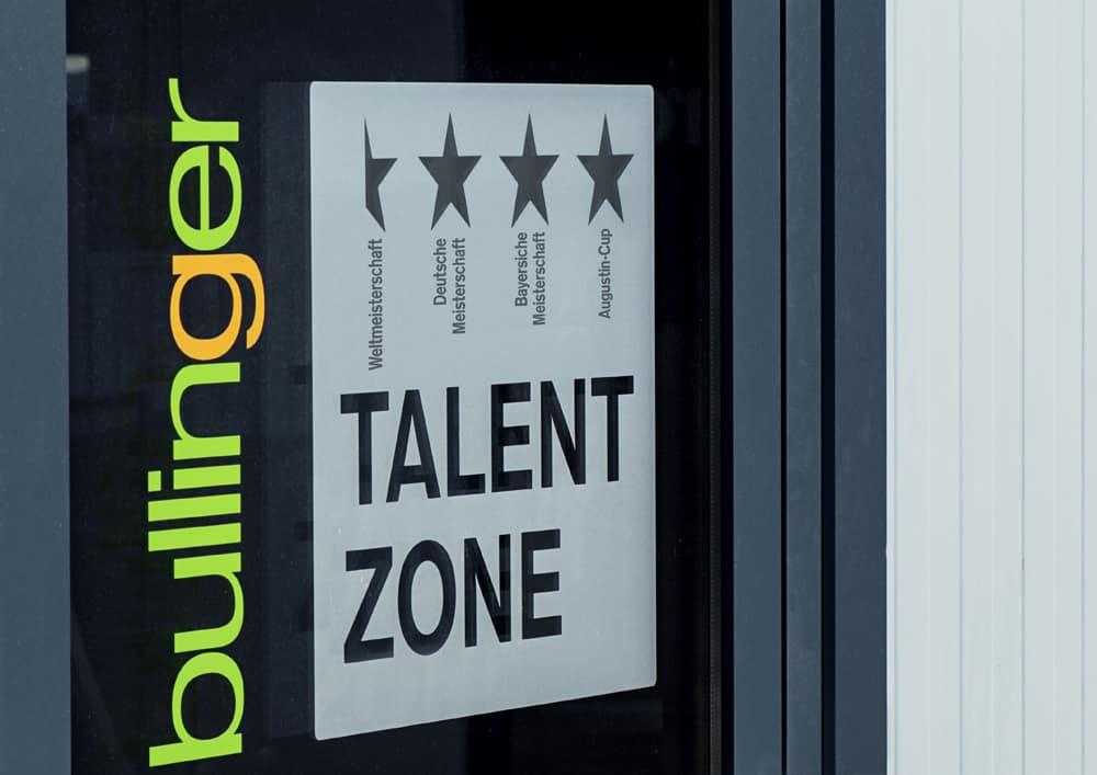 Bullinger Talent Zone